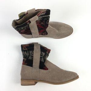 Toms Tan Tribal Laurel Boot X9515869
